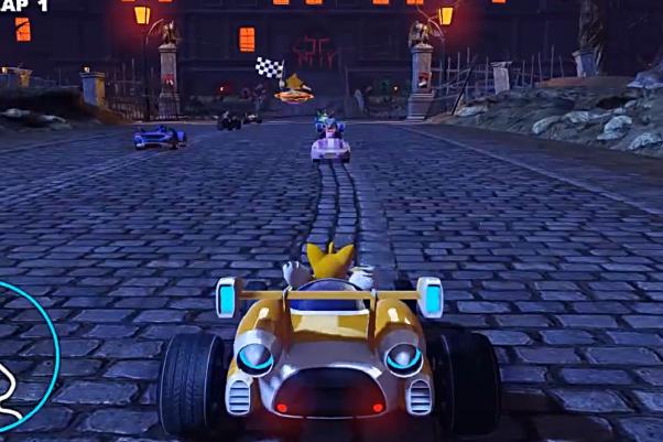 索尼克全明星赛车:变形