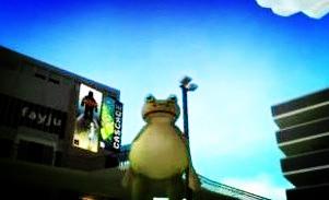 【神奇青蛙】下水道里喝咖啡!
