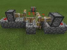 我的世界半自动刷铁轨机