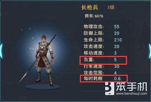 汉王纷争各兵种属性及作用详解