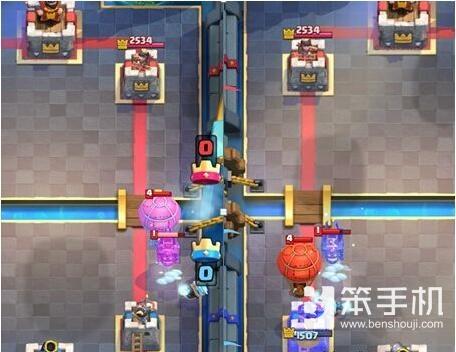 皇室战争狗球流新玩法 进攻新放置方式介绍
