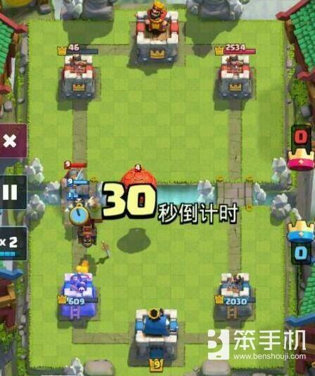 皇室战争脏炮要如何对付狗球