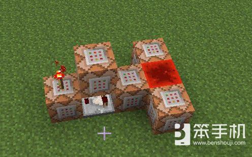 我的世界如何使用红石制作飞行地毯