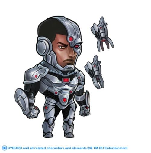 机械悍将!《小冰冰传奇》DC授权钢骨震撼来袭!