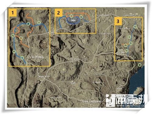 绝地求生:正式服更新,安全区缩小加快,沙漠地图调整
