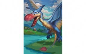 《我的恐龙》驯龙手册,蓝色品级恐龙的使用攻略