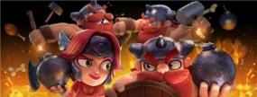 版本大揭秘 《野蛮人大作战》战斗新模式嗨翻蘑菇岛