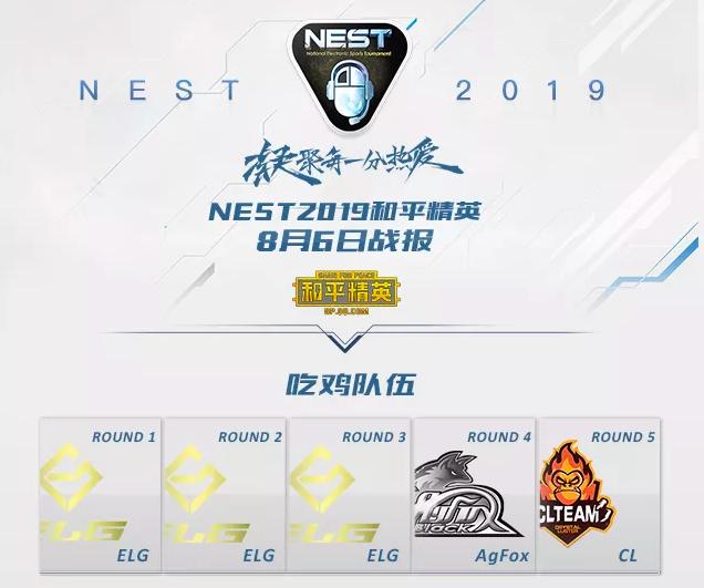燃情夏日,激情鏖战—NEST2019《和平精英》项目圆满落幕!