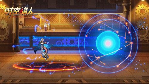 《时空猎人》首位玩家原创角色,小姐姐请点亮我的星空!