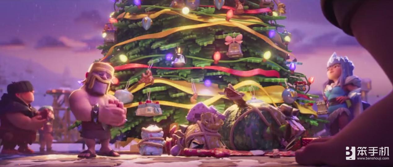 """Clash圣诞节取消!《部落冲突》&《皇室战争》""""滚木圣诞节"""""""