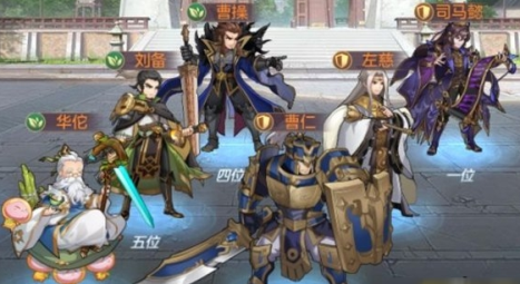 三国志幻想大陆司马懿阵容:武将选择与其它搭配介绍