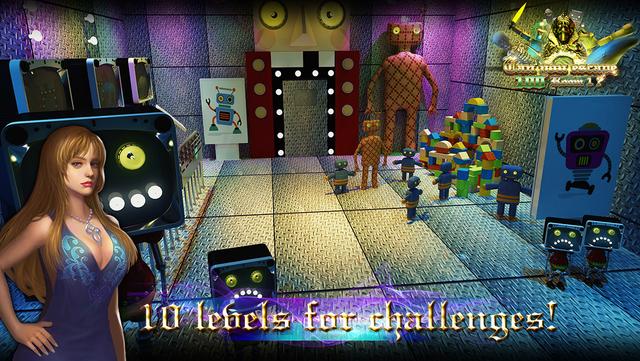 密室逃脱:100个房间之神殿逃亡